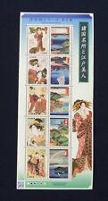 UKIYOE No. 6 Limited Edition Stamp Sheet JAPAN