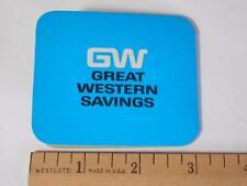 Vintage Sewing Needle Book Advertising Great Western Savings Loan - free ship