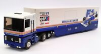 Louis Surber 1/43 Scale 5429 - Williams Renault F1 Car Transporter - Blue/White