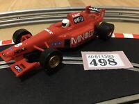 Scalextric Car F1 Minolta No8 ELF C2096 Slot Car 1:32 Lot 498