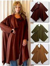 Cowl Neck Cotton Tops & Shirts Plus Size for Women