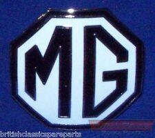 Grille, Bonet Badge, Black/White - MG TF, MGA