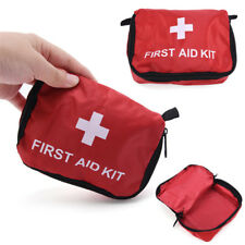 Camping Emergency Bandage Medical Survival Drug Case First Aid Kit Pack Bag QZ