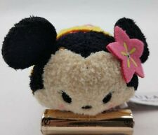 "Authentic Disney Store AULANI Minnie Mouse tsum tsum Mini 3.5"" plush Doll"