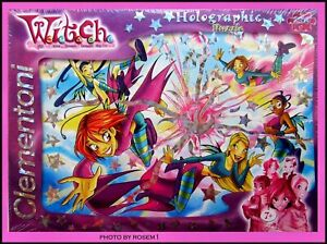 W.I.T.C.H. Dolls Witch 250 pc Puzzle w SILVER STARS Age 8+ Clementoni Made Italy