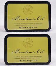2 Somerset Toiletry England MACADAMIA OIL Triple Milled Moisturizing Bar Soap