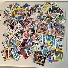 Lot of over 400 CLEVELAND INDIANS baseball cards - all different years!!