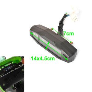 1Pcs Motorcycle Dirt Bike LCD Digital Speedometer Odometer Gauge With Sensor
