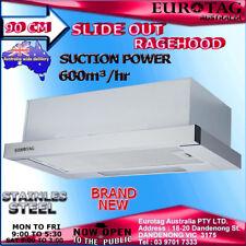 NEW Eurotag RHSD-900 90cm Slide Out Range hood 600m3/h stainless steel Brand New