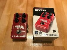 More details for tc electronic hall of fame reverb inc. box very good condition