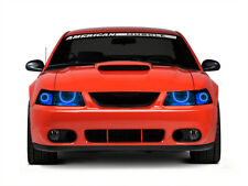 Ford Mustang 99-04 CHS Bright Blue LED Headlight Halo Ring Kit
