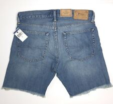 NEW Men's Polo Ralph Lauren Denim Jeans Shorts Sullivan Slim Blue Sz 29 31 34 42