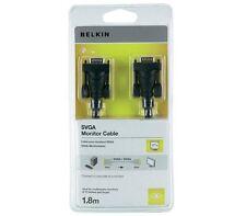 Belkin SVGA Monitor Cable Monitorkabel Schwarz 1,8 Meter NEU UND OVP