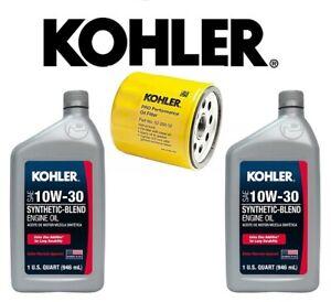 2PK 10W-30 ENGINE  OIL &  OEM KOHLER PART OIL FILTER 52 050 02-S   S1 KIT