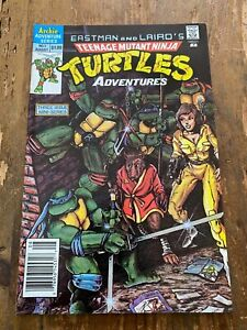 Teenage Mutant Ninja Turtles Adventures #1 Archie 1988 1st app Krang Newsstand o