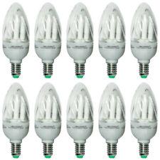 10 x MEGAMAN MM11952i Kerze Compact Energiesparlampe 9W Warmweiß E14