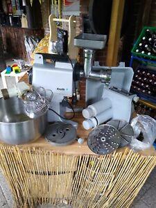 Küchenmaschine Gemüseschneider Teigmaschine Fleischwolf Krefft gebraucht