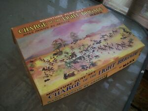 MARX MINIATURES PLAYSET 30MM CHARGE OF THE LIGHT BRIGADE