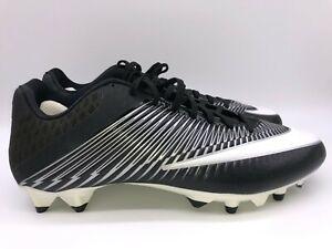 Nike Men's Vapor Speed 2TD CF Football Cleats Black/White 847097 011 Size 13.5
