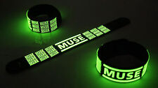 Muse New! Glow in the Dark Rubber Bracelet Wristband Madness vg262