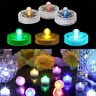 10pcs Submersible Waterproof LED Tea Light Candles Battery Operated Wedding Vase