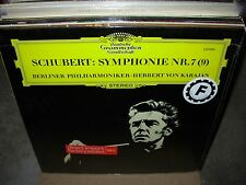 KARAJAN / SCHUBERT symphonie 7 ( classical ) dgg - TOP COPY -