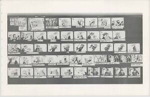 Great Mouse Detective Walt Disney Production Animation Storyboard Sheet 1986 272