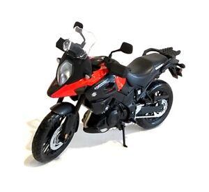 SUZUKI V-STROM Adventure - 1:12 Die-Cast Motorbike Model by Maisto - New