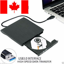 Slim External CAB 3.0 DVD RW CD Writer Drive Burner Reader Player For PC Laptop