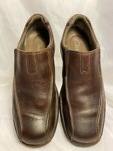 Clarks Pickett Mens Loafer Size 10M Brown *N