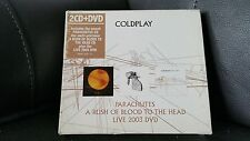 coldplay parachutes a rush of blood to the head live 2003 DVD CD holland import
