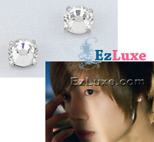 Korean boys over flowers Crystal Magnet Non-Pierced No Piercing clip on Earrings
