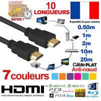 HDMI CABLE V2.0 0.50M 1M 2M 5M 10M 20M HIGH SPEED 4K 2160P 3D ULTRA HD PS4 XBOX