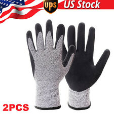 Metal Mesh Butcher Gloves Safety Cut Proof Stab Resistant Hppe Knitted Gloves