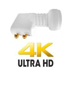 4K 3D TWIN LNB CYFROWY POLSAT NC+ HD SKY ASTRA THORE 40MM