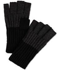 Calvin Klein Mens Fingerless Gloves, black, One Size