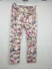 Forever New Floral Pants size 6