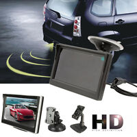 800*480 TFT LCD HD Screen Monitor For Car Rear Reverse Rearview Backup Camera CH