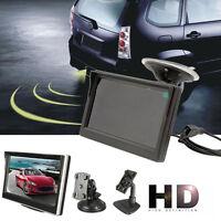 "5"" 800*480 TFT LCD HD Screen Monitor For Car Rear Reverse Rearview Backup Camera"