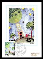 ITALIA REP. - 2000 - Il futuro dei francobolli. Concorso internazion. su maximum