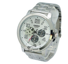 -Casio MTPX300D-7A Men's Metal Fashion Watch Brand New & 100% Authentic