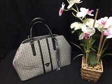 NEW GUESS Marciano G Logo Tassel Gray Black Group CAMP Satchel Handbag Purse Bag