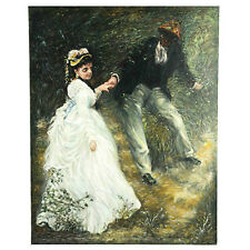 Untitled (After Renoir's Le Promenade) By Anthony Sidoni 2006 Oil on Canvas