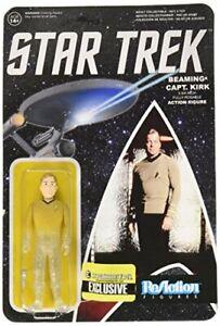 Star Trek: The Original Series Beaming Kirk Reaction 3 3/4-Inch Retro Action ...