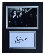 Ralph Ineson Signed Autograph 10x8 photo display Harry Potter Film AFTAL & COA