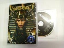 Amiga DeluxePaint 5 - NEW ARTWORK - 'BOXED' 25th  CD-ROM Deluxe Paint V DPaint