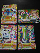 "Trading card of Japanese Idol Animation ""AIKATSU"" Paint deco coordinate"