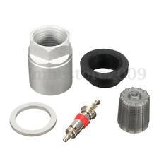 TPMS Tire Pressure Sensor Repair Washer Nut Valve Cap Service Kit For Toyota