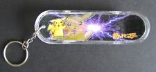 Vintage NOS Mini Skateboard Keychain Pokemon Fingerboard Pikachu Card Cards