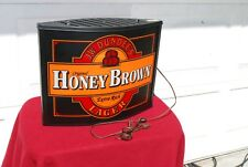 JW Dundee's HONEY BROWN LAGER BEER LIGHTED BEER SIGN. LOOKS & WORKS GREAT.